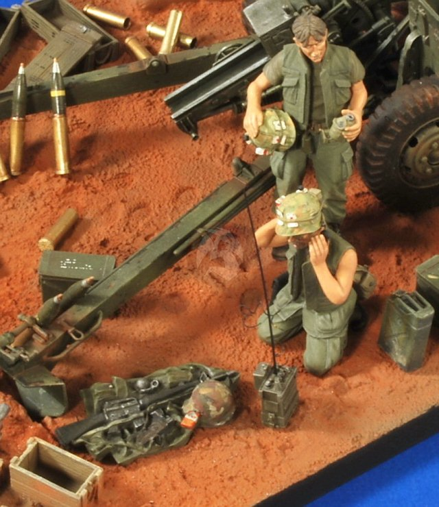 Fire Base Dioramas Vietnam
