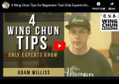 Wing Chun Tips for Beginners