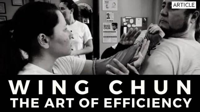 wing chun the art of efficiency