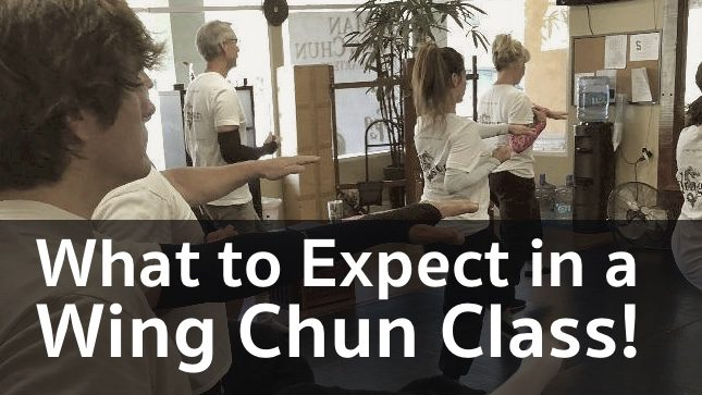 What to Expect in a Wing Chun Class