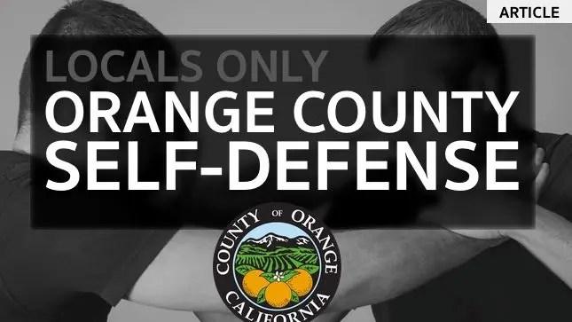 SELF-DEFENSE ORANGE COUNTY
