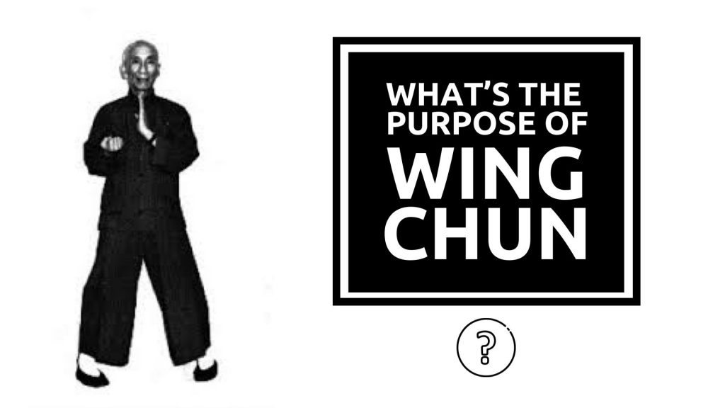 What's the purpose of Wing Chun