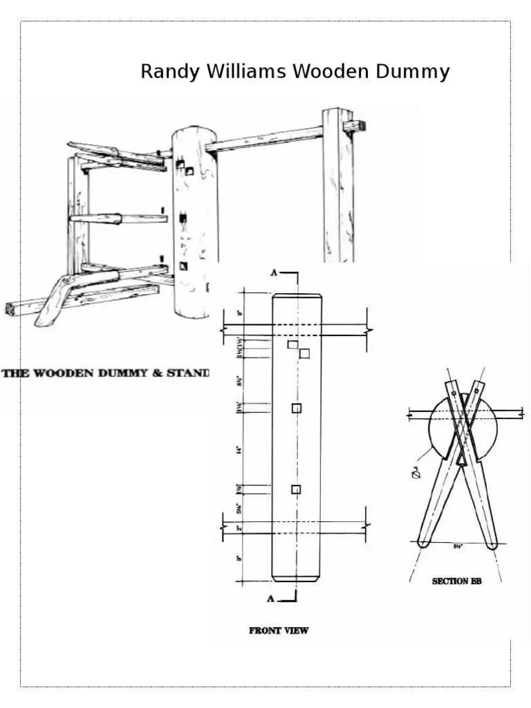 Randy Williams Wooden Dummy