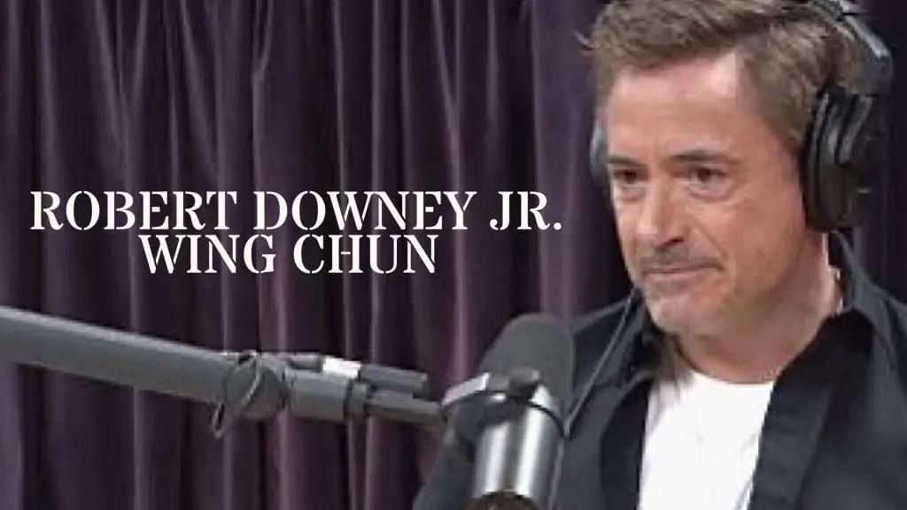 Robert Downey Jr Wing Chun