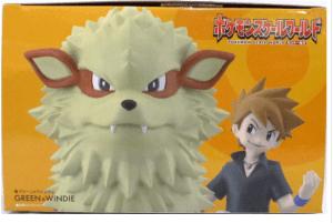 Bandi Premium Pokemon Scale World Arcanine and Trainer Green (Order In 50% Deposit)