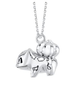 Rock Love Bulbasaur Pendant Necklace (Order In 50% Deposit)