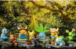 Pokémon Gardening Collection Figures & Planters (Order In 50% Deposit)