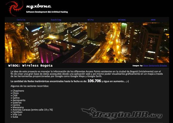 Mapa Wireless Bogota2 WiBOG   Wireless Bogotá