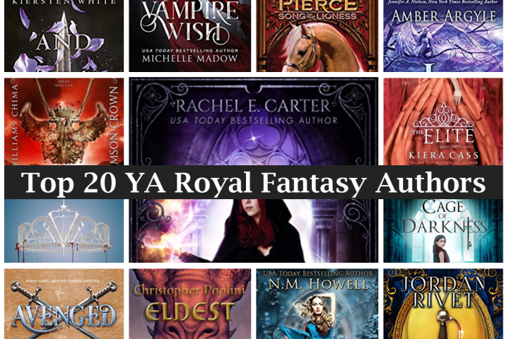 20 Top YA Royal Fantasy Authors 2017