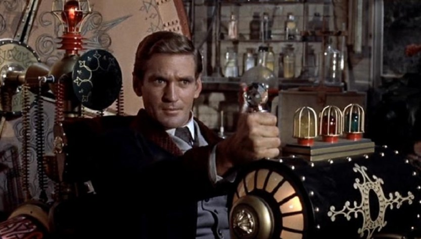 image from the original time machine movie
