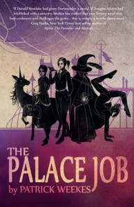 the palace job by patrick weekes - yet to read delightful indie fantasy dragons and whimsy