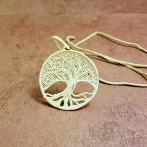 Necklace Tree of Life Ivory