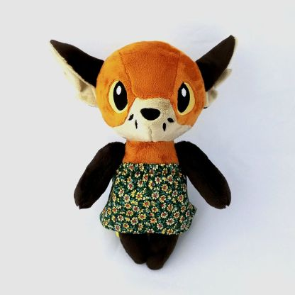 Woodland-Anthro-Fox-front-view-hilo-dress