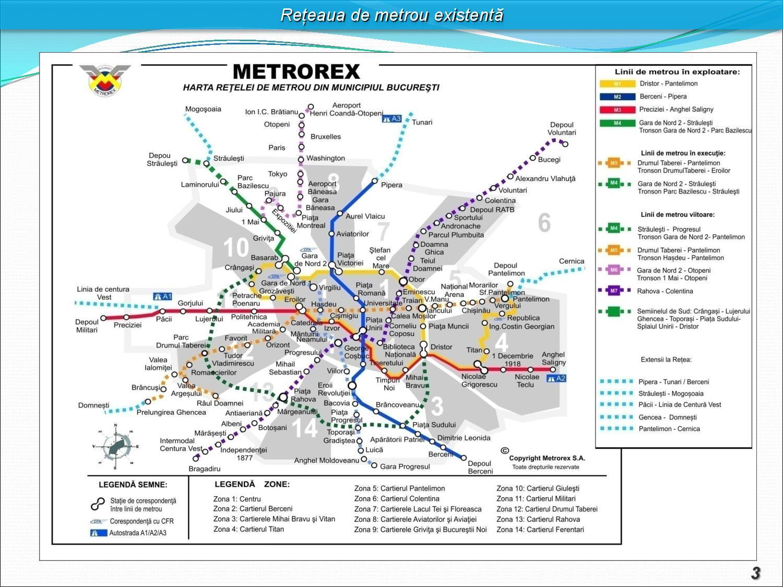 Harta Nouă Cu Rețeaua De Metrou A Bucureștiului Dragosu Ro