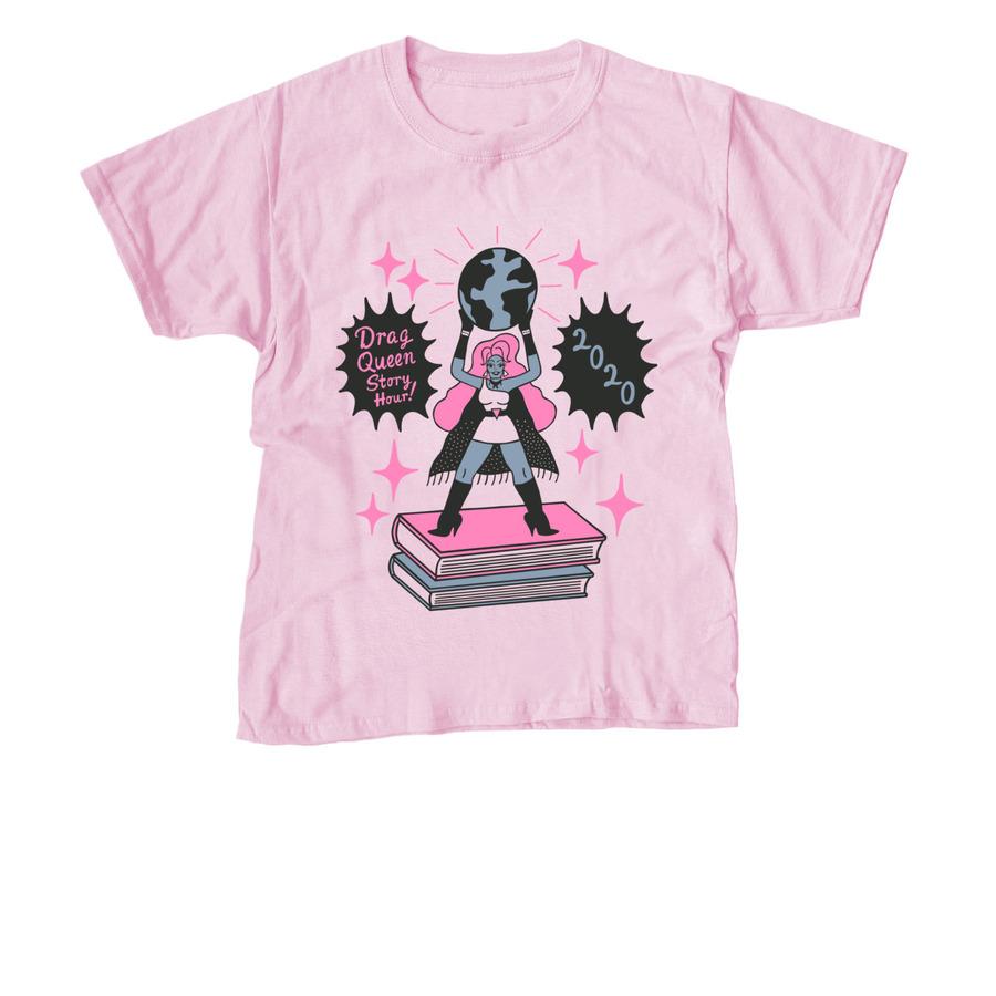 DQSH toddler t-shirt pink