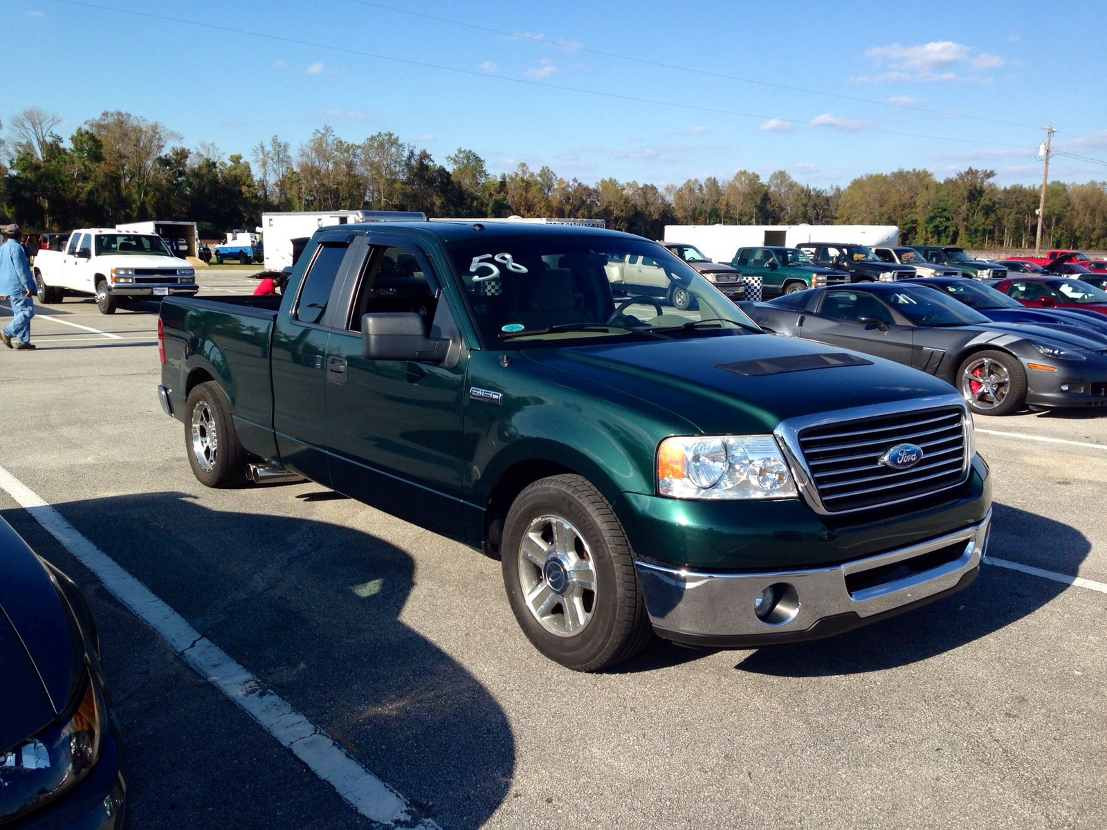 2007 Ford F150 Super Cab XLT Whipple 14 Mile Trap Speeds