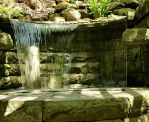 Outdoor Waterfall Trend - DrainRooter Plumbing