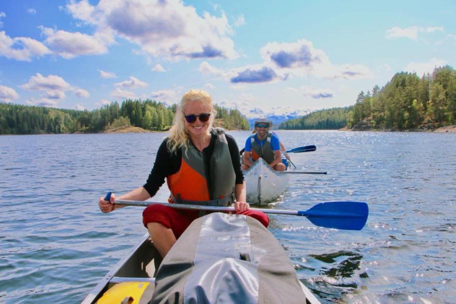 Drakkar Outdoor specialist kanotocht Zweden