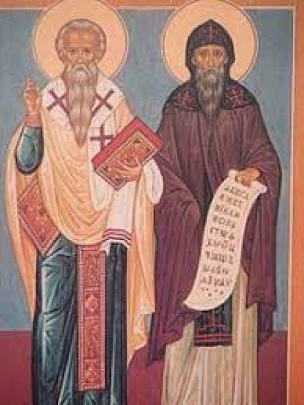 Οι Άγιοι Κύριλλος και Μεθόδιος, οι φωτιστές των Σλάβων