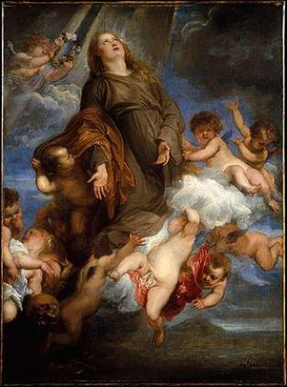 Η Αγία Ροζαλία του Βαν Ντάικ