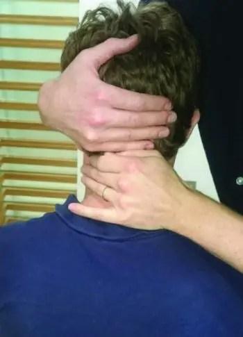 cervicogenaj kapdoloroj Kapdoloro Natura Apofizika Glido SNAG - El Paso-Kiropractoro