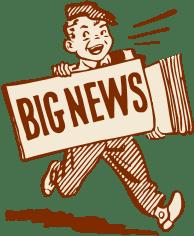 blog de imágenes de repartidor de periódicos de dibujos animados