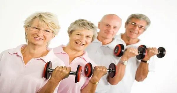 blog de imágenes de las personas mayores el ejercicio