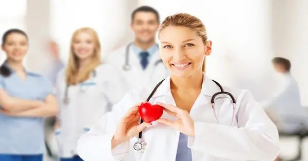 blog picture of doctor holding plastic heart for health