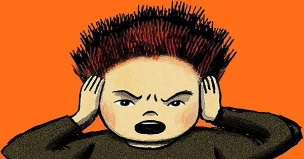 illustrazione di blog del bambino andare pazzo