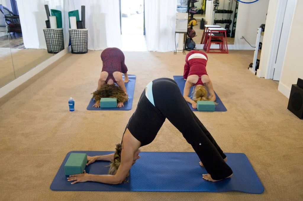 blog picture of women in yoga studio