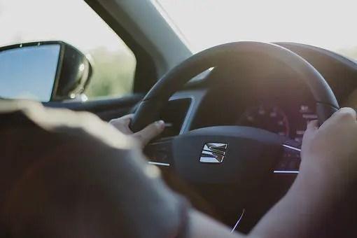 blog de imágenes de alguien que conduce