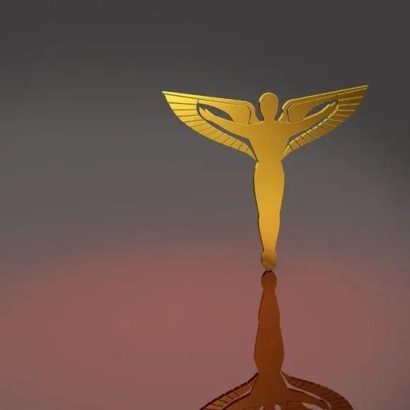 blog de imágenes de símbolo del caduceo en el oro