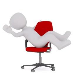 ergonomía trabajo lesiones oficina silla el paso tx