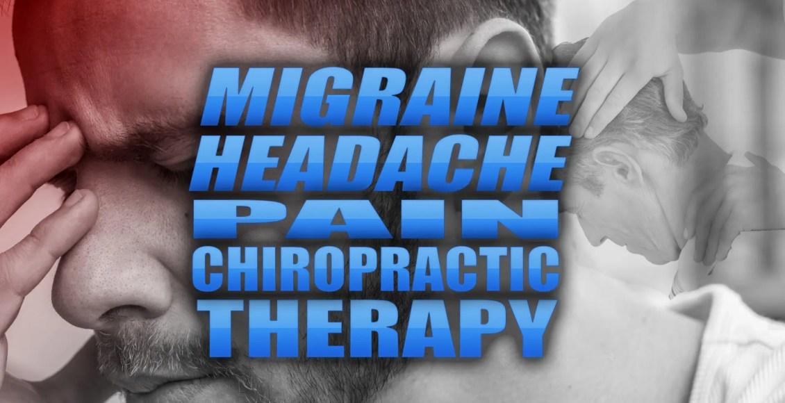 片頭痛頭痛痛みカイロプラクティック療法のカバー画像| テキサス州カイロプラクター、エルパソ