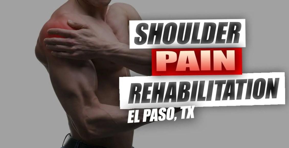 Dolor en el hombro atención quiropráctica el paso, tx.