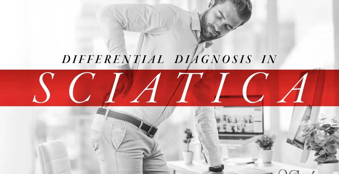 Diagnóstico diferencial en la ciática | El Paso, TX Quiropráctico