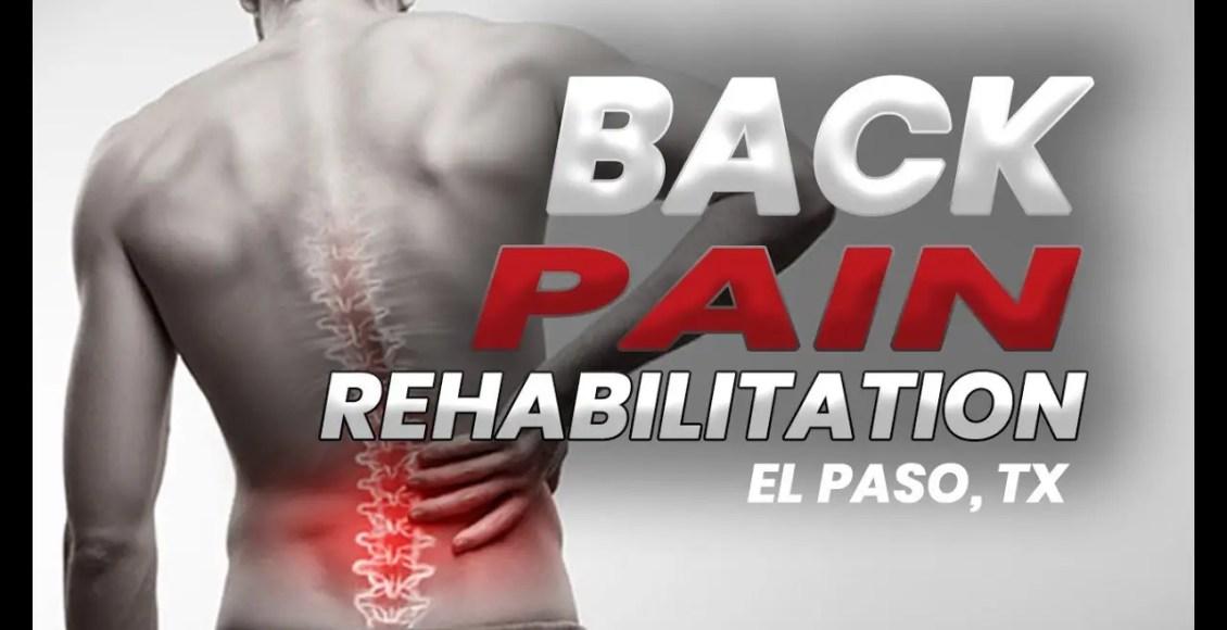 11860 Vista Del Sol Ste. 128 * BACK PAIN * Reabilitação | El Paso, Tx (2019)