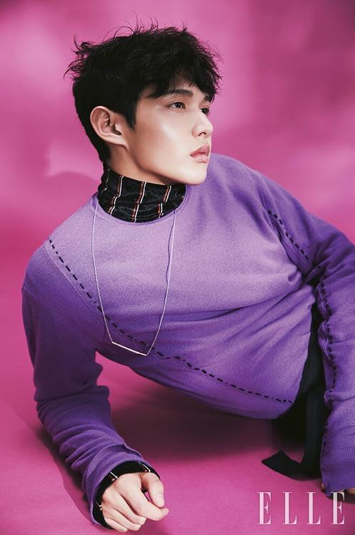 Lee Seo Won magazine