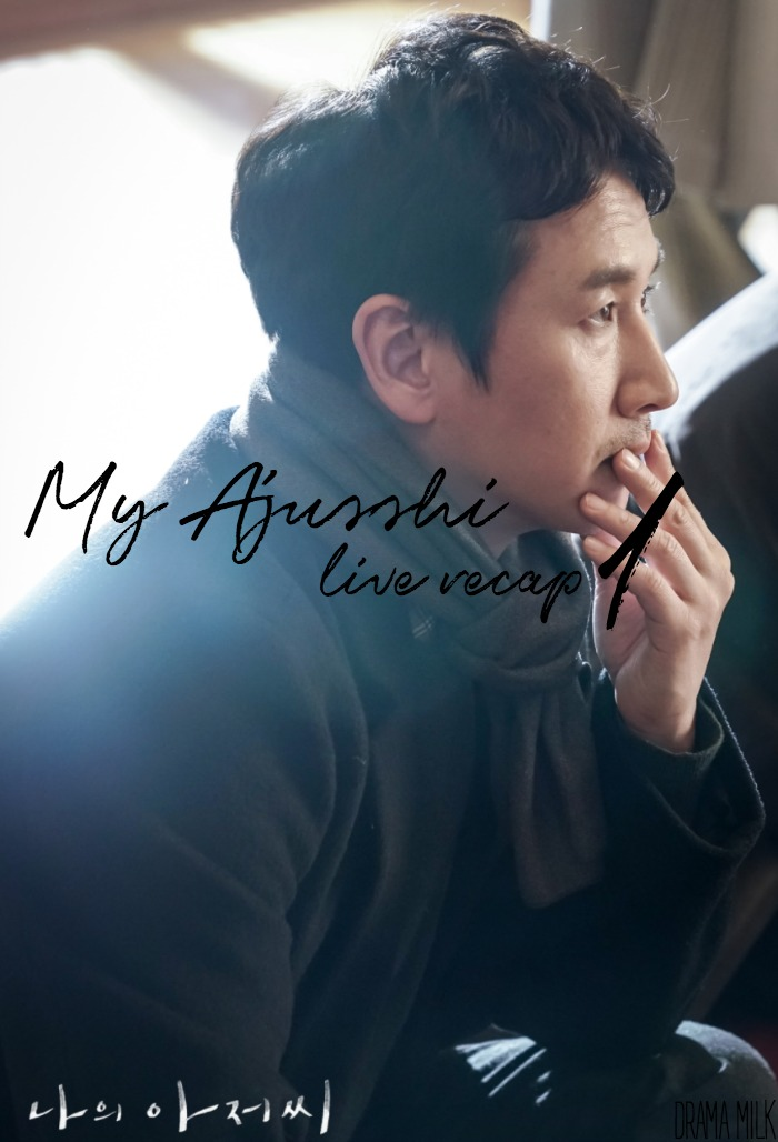 Live recap for episode 1 of the Kdrama My Mister/My Ajusshi starring Lee Sun-Kyun and Lee Ji-Eun