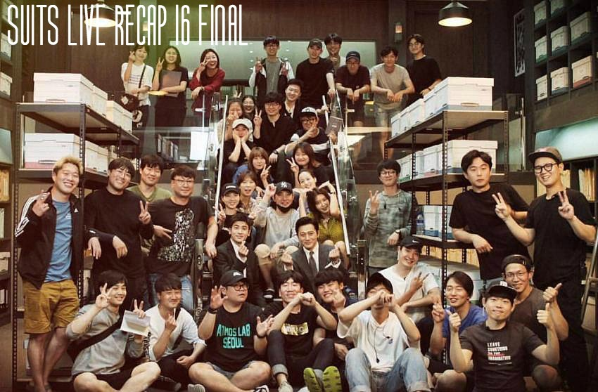 Live recap for episode 16 of the Korean Drama Suits starring Jang Dong-gun and Park Hyun-sik.