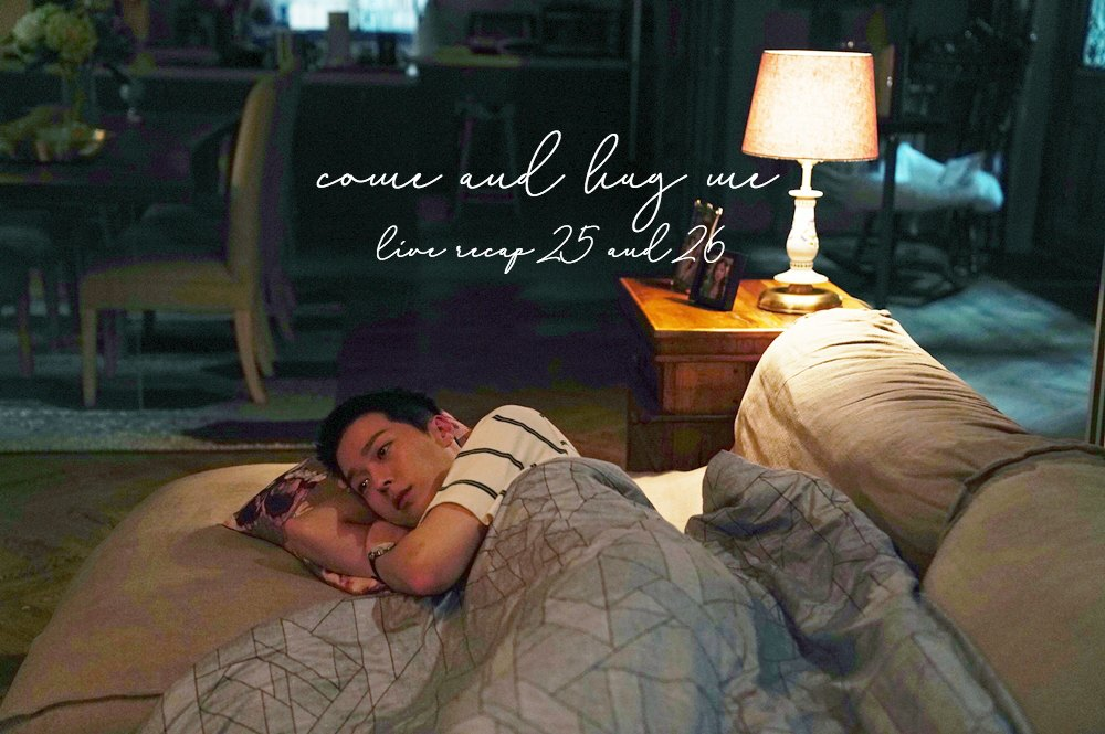 Jang Ki-yong sleeping on a couch in Come and Hug Me