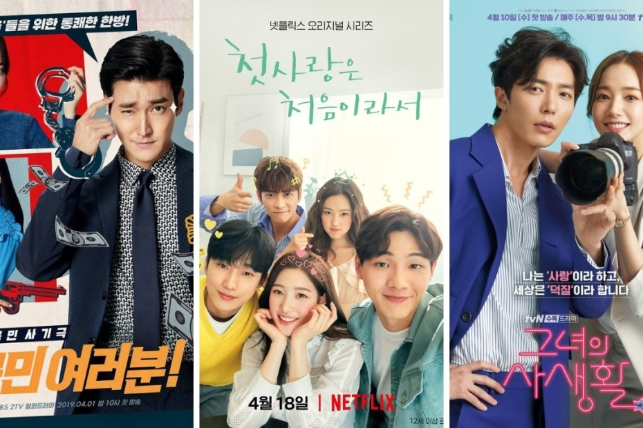kdramas in April 2019