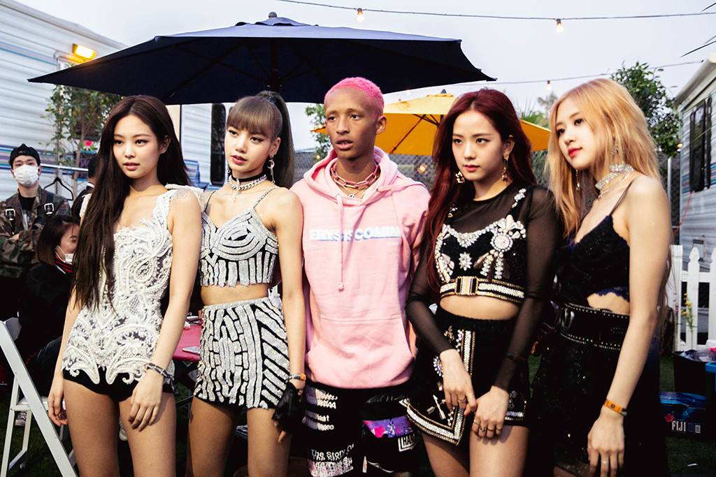 BlackPink and Jaden Smith