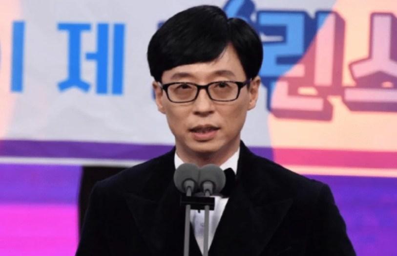 Yoo Jae Suk SBS AWARDS