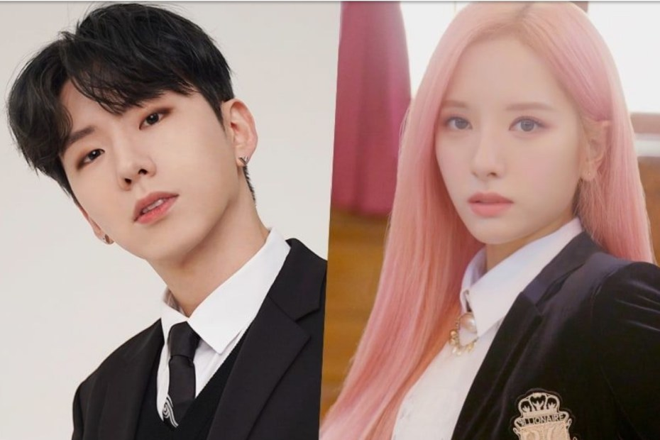 MONSTA X's Kihyun And WJSN's Bona