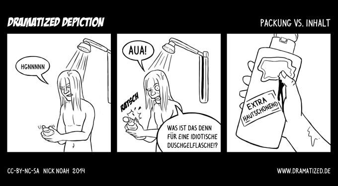 Packung vs. Inhalt