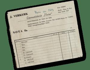 nectar-utrecht-geschiedenis-pakbon