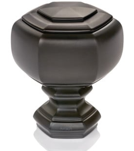 Finial for curtain rods