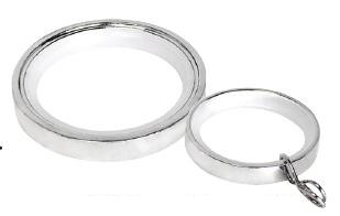 Polished Chrome Rings