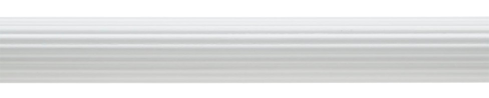 Reeded Pole White